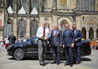 001-CZECH-PRESIDENT-ZEMAN---HANDOVER-of-new-SUPERB