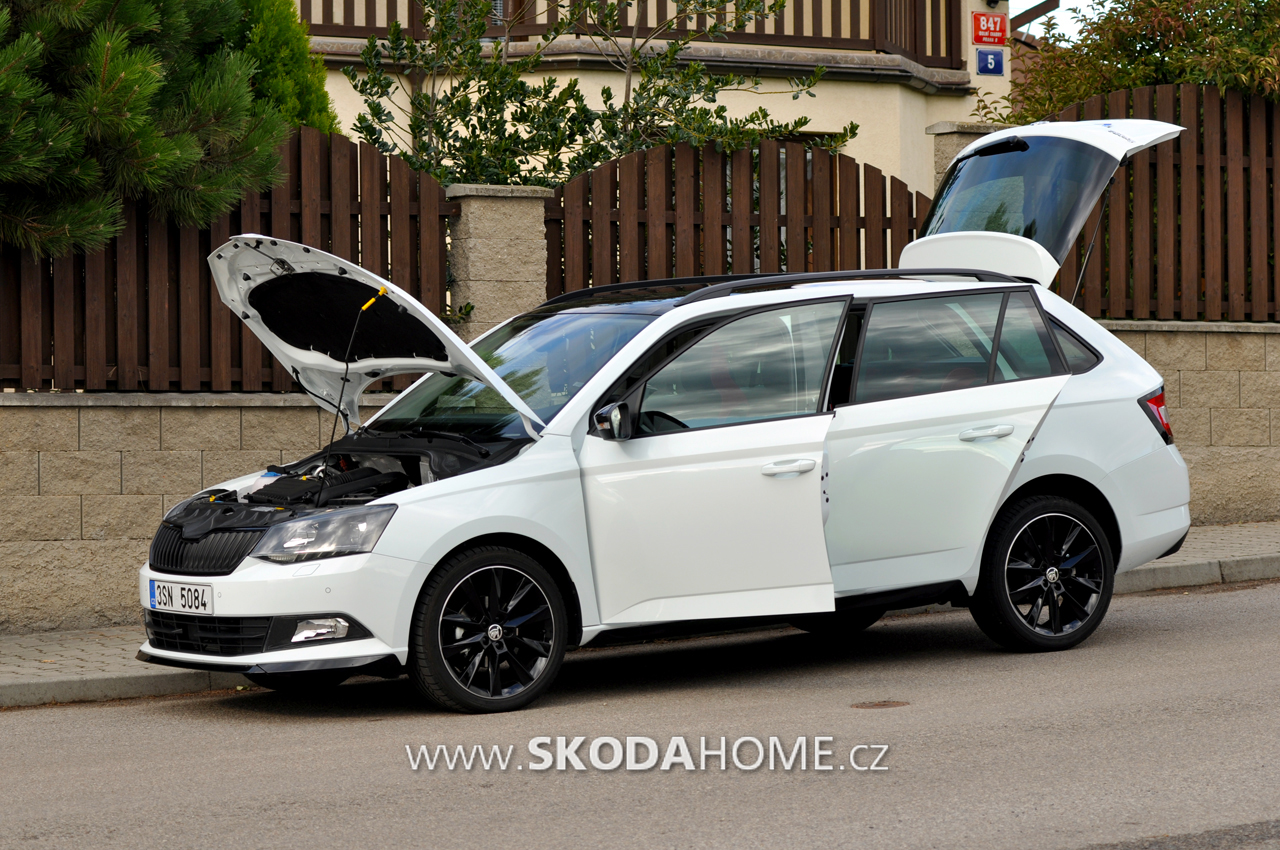 skoda fabia combi monte carlo 28. Black Bedroom Furniture Sets. Home Design Ideas