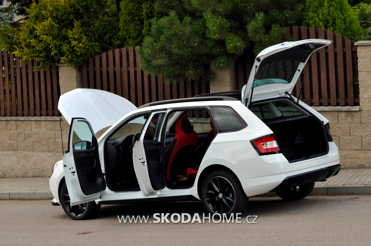 skoda fabia combi monte carlo 31. Black Bedroom Furniture Sets. Home Design Ideas