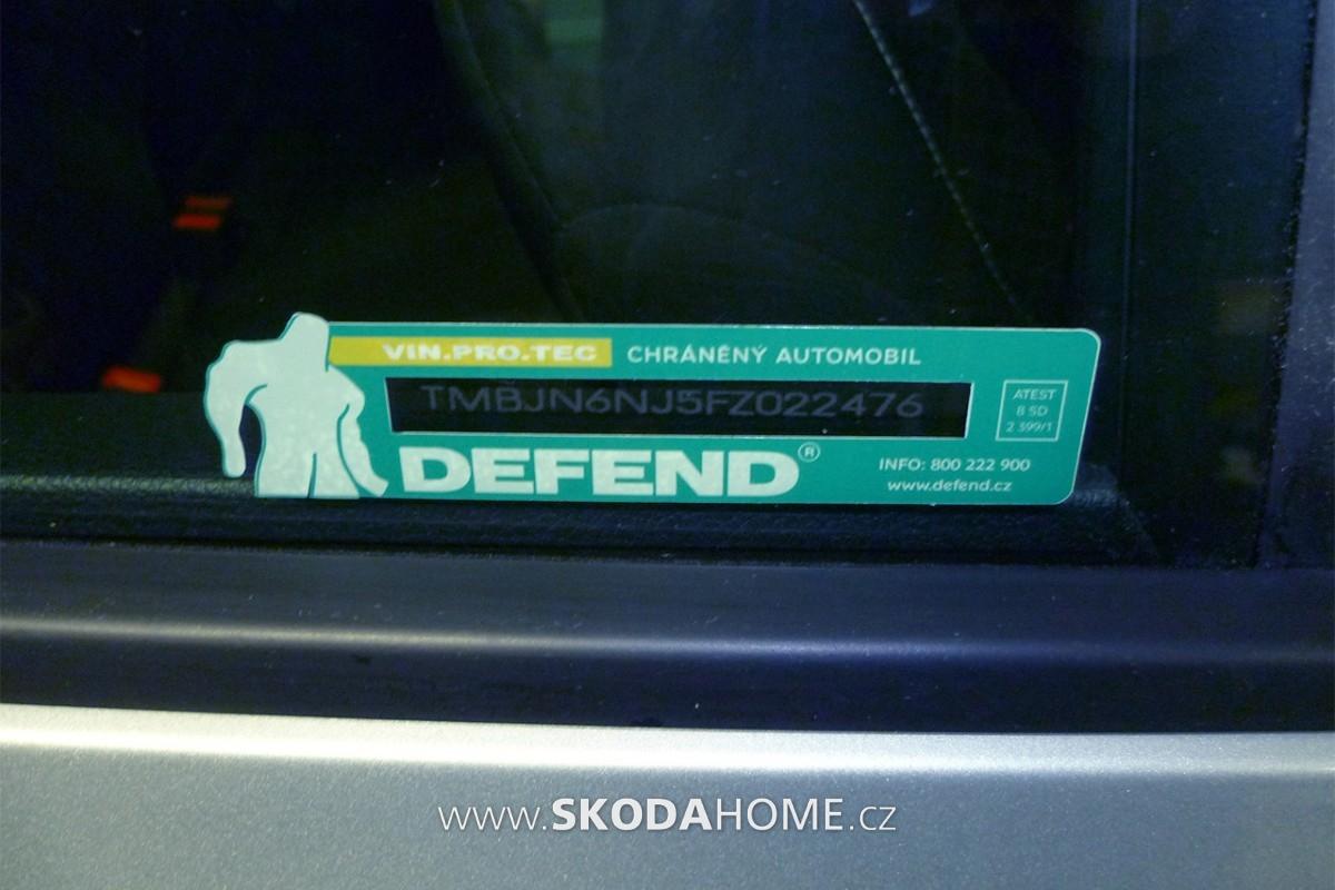 DEFEND-Samolepka na okne