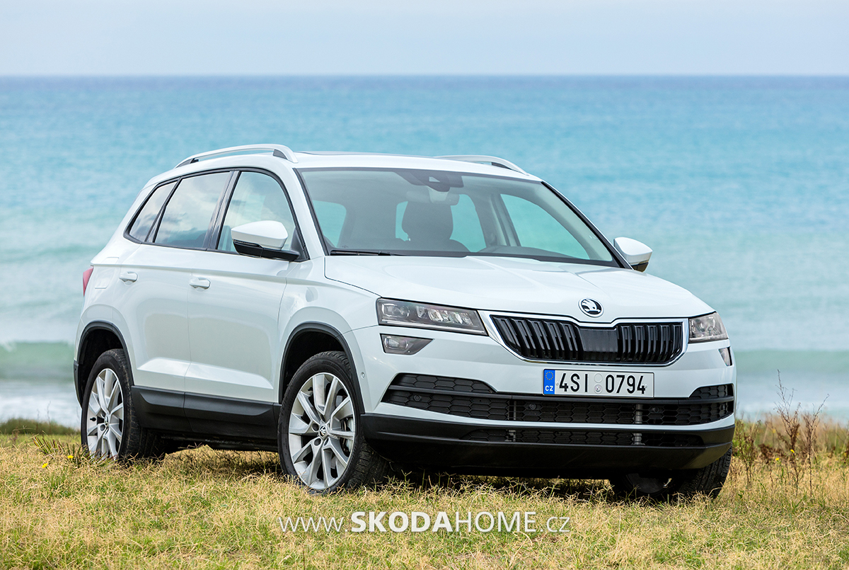 skoda karoq 227. Black Bedroom Furniture Sets. Home Design Ideas