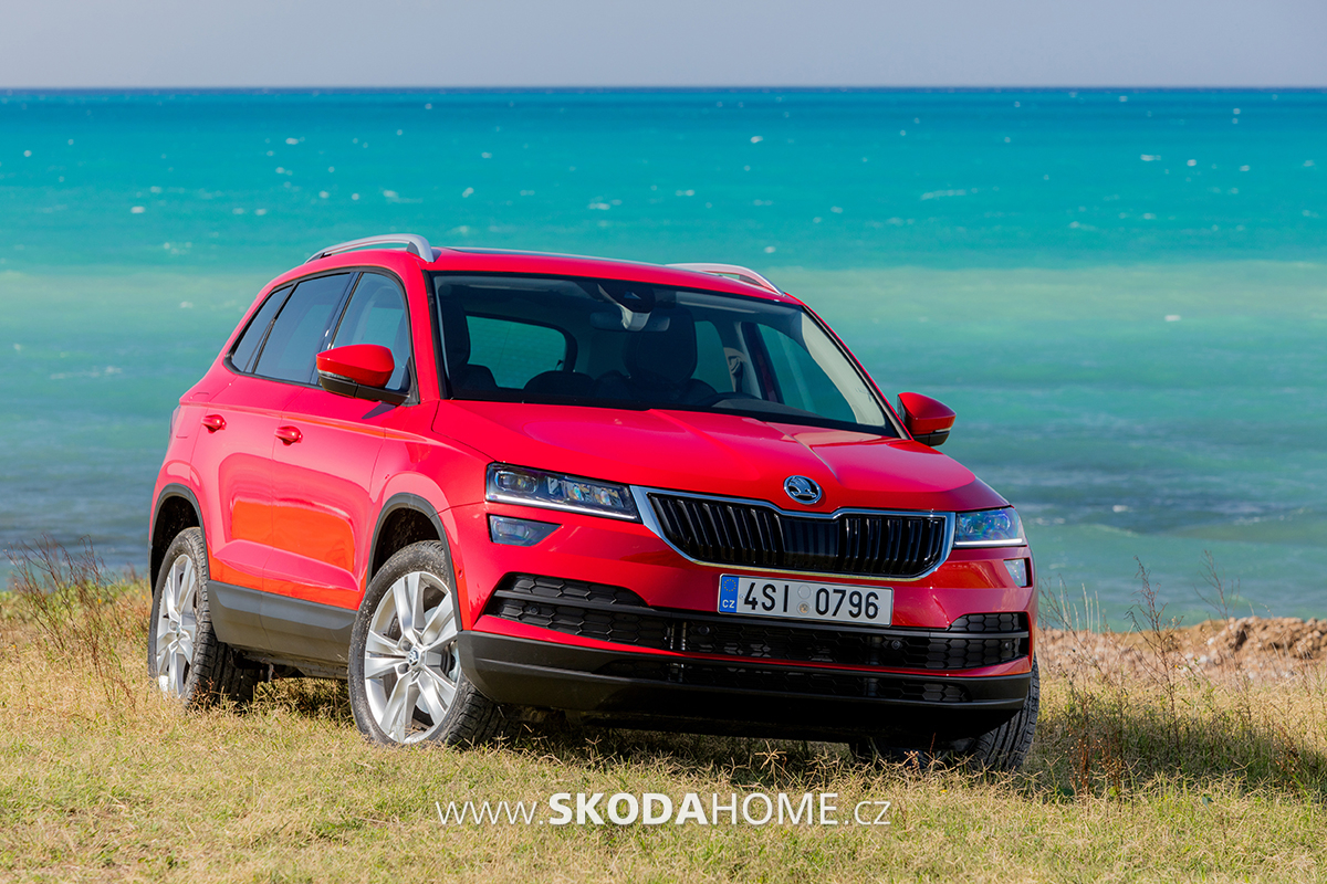 skoda karoq 275. Black Bedroom Furniture Sets. Home Design Ideas