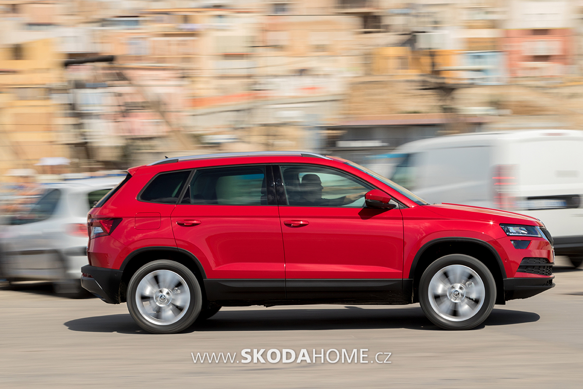 skoda karoq 278. Black Bedroom Furniture Sets. Home Design Ideas